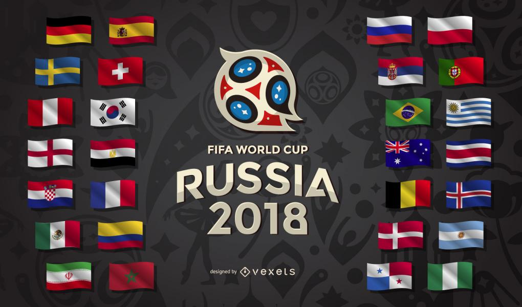 05a7f2a20aeffc6ac7adc6c8f7151261 russia 2018 world cup country flags