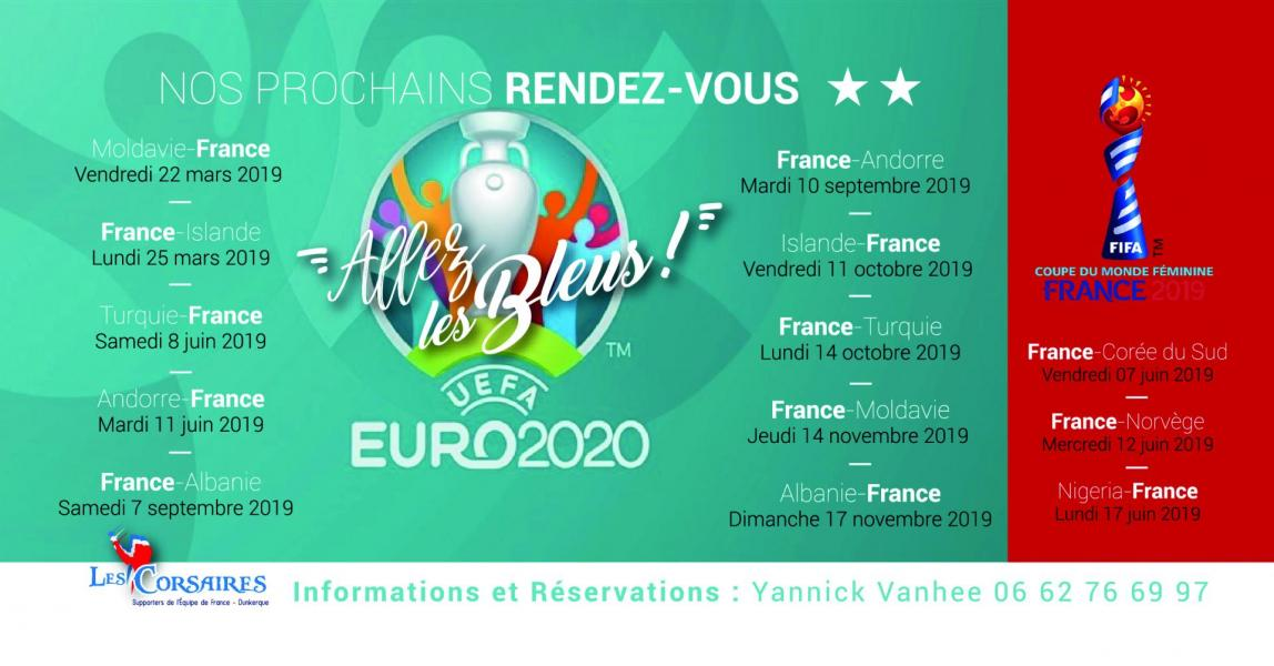 Le Calendrier Euro 2020.Calendrier Qualifs Euro 2020
