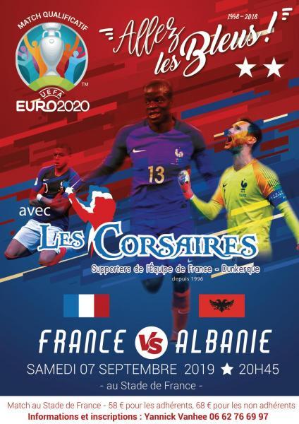 France albanie