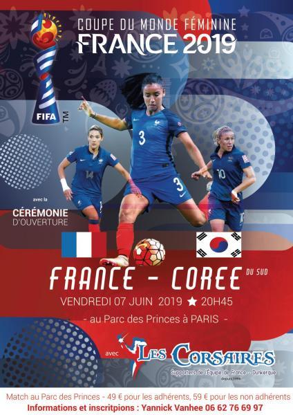 France coree feminine